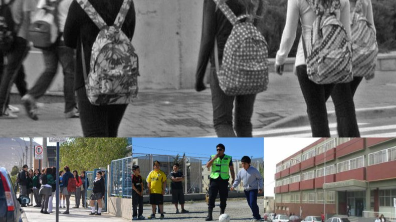 Los corredores escolares sólo cubren diez colegios en Comodoro