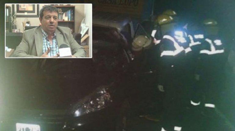 Un diputado nacional murió en un choque en Buenos Aires
