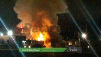 Fotos y video: José víawhatsapp a El Patagónico