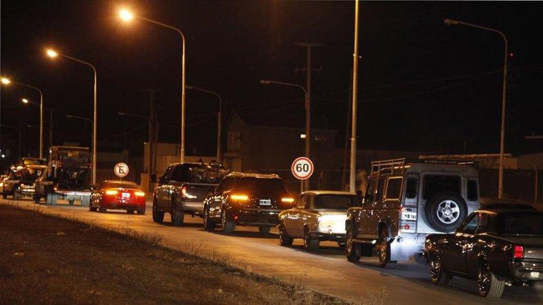 En los allanamientos se secuestró gran cantidad de vehículos de alta gama.<br>