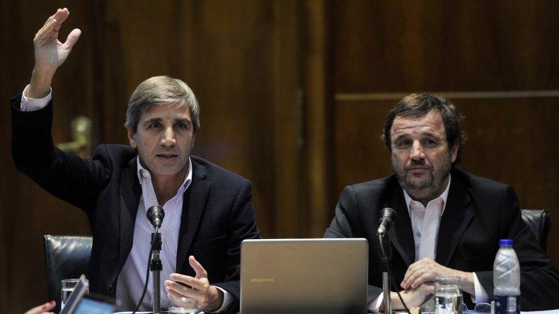 Luis Caputo dio precisiones sobre el programa financiero.