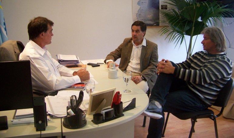 Los ministros de Ambiente y Producción de provincia se reunieron con el emprendedor Gonzalo Soriano.