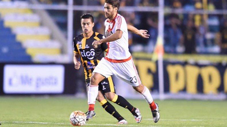Leonardo Ponzio volverá al mediocampo luego de purgar tres fechas de suspensión en la Copa Libertadores.