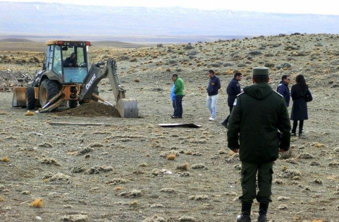 Siguen los allanamientos: excavaron en estancias de Lázaro Báez