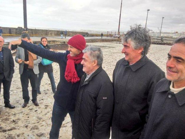 Dietrich anunció obras en el aeropuerto, camino de circunvalación y puerto