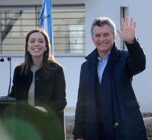 Mauricio Macri encabezó acto de entrega de viviendas.