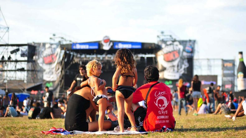 El Cosquín Rock es el encuentro local que más se parece al viejo Woodstock.