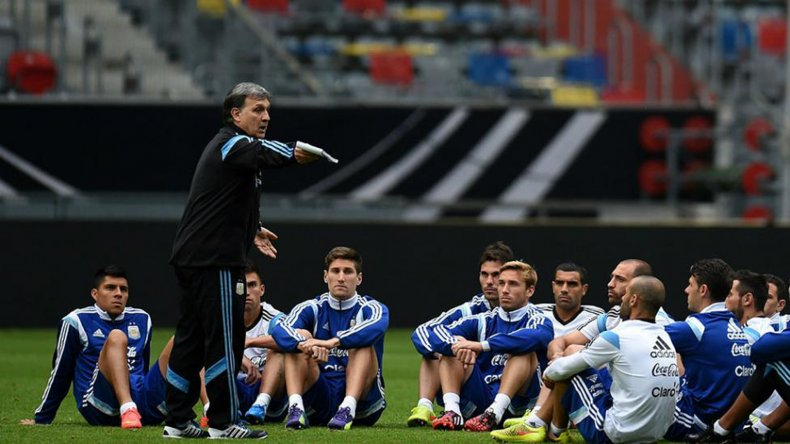 El DT Gerardo Martino tendrá un arduo trabajo para definir la lista definitiva para la Copa América.