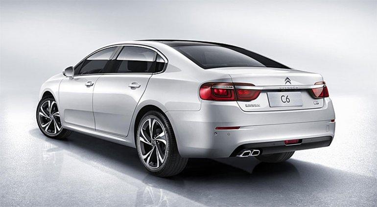 Citroën develó el nuevo C6