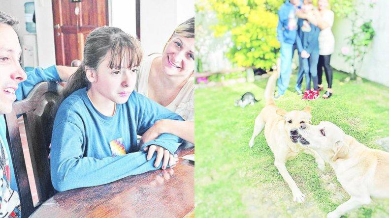 Mora, la primera argentina que padece la enfermedad transmitida por una garrapata