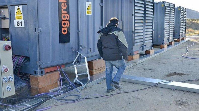 Instalaron los 25 generadores en Comodoro y Rada Tilly aunque están parados