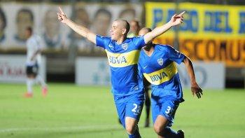 Alexis Messidoro es el juvenil que viene destacándose en Boca.