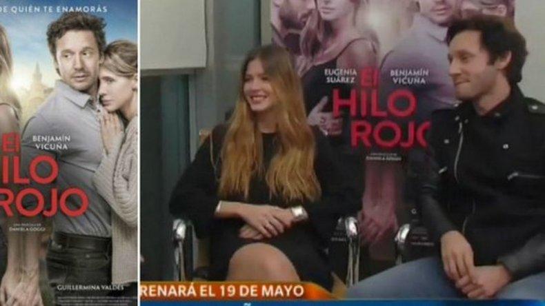 China Suárez y Benjamín Vicuña  juntos por primera vez en televisión