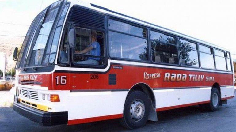 El colectivo ya cuesta $16,50 en Rada Tilly