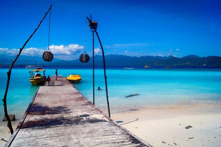 Sus playas son pequeñas y casi exclusivas