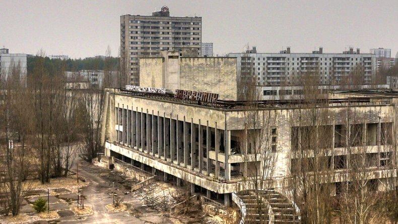 La ciudad es un museo de la era soviética tardía