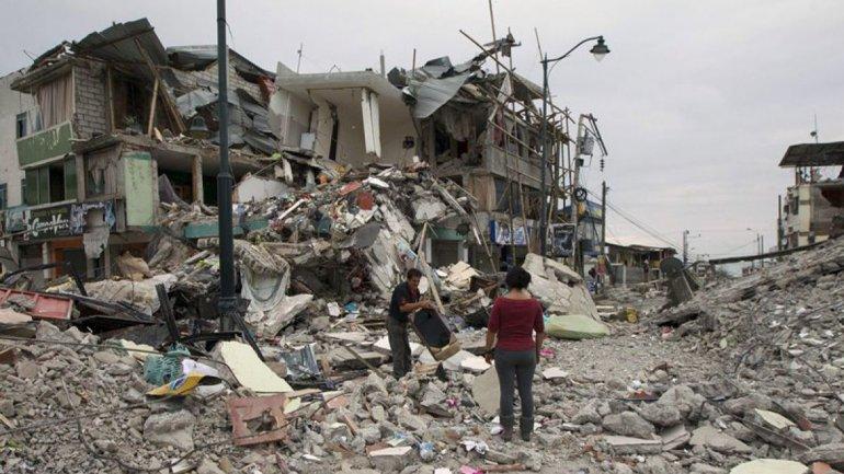 Las devastadoras consecuencias que dejó el terremoto del 16 de abril.