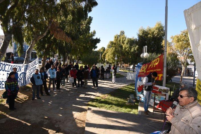 El acto por el Día del Trabajador que desarrolló la CTA en el Monumento a los Trabajadores.