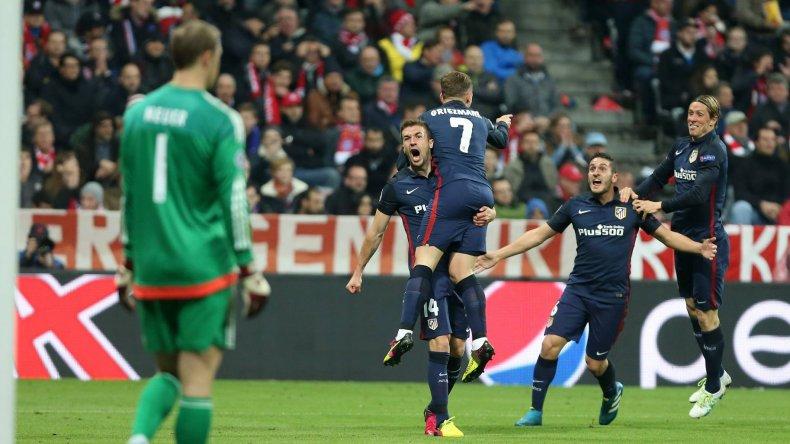El Atlético Madrid a la final
