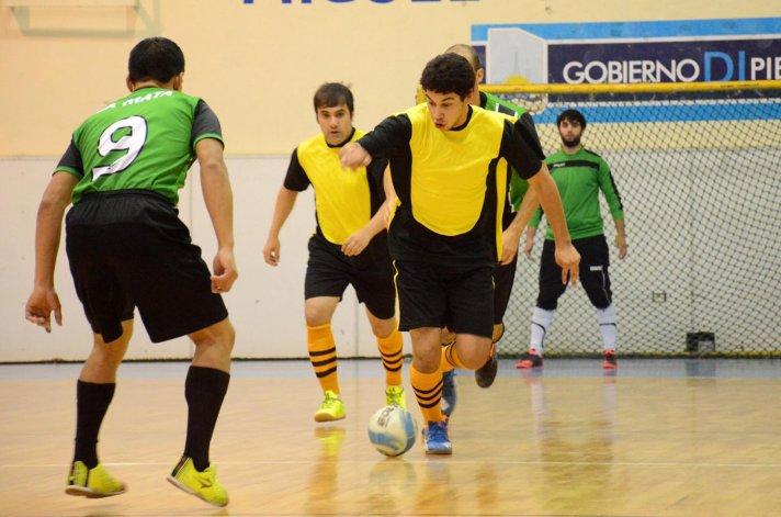 El fútbol de salón de la Categoría Principal tuvo acción sólo el sábado.