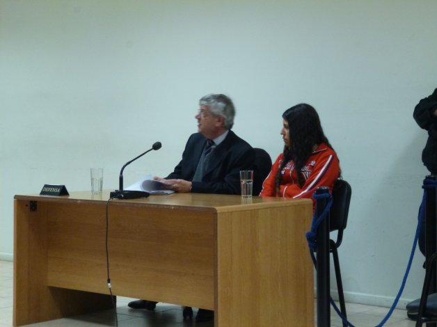 Hoy se terminará de incorporar la prueba testimonial del juicio que se sigue contra Nahir Quinteros -foto- por la tentativa de homicidio de Laura Berro.
