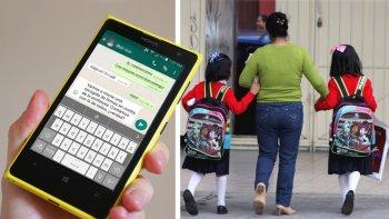 ¡atencion! crearon un manual para los grupos de padres en whatsapp