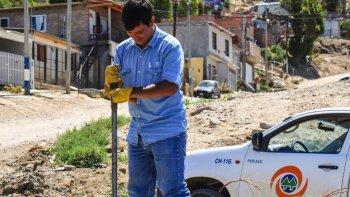 corte de agua en distintos barrios sin horario de normalizacion