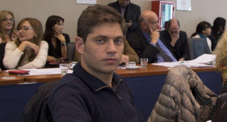 Kicillof denunció que el oficialismo no quiere tratar la ley antidespido.