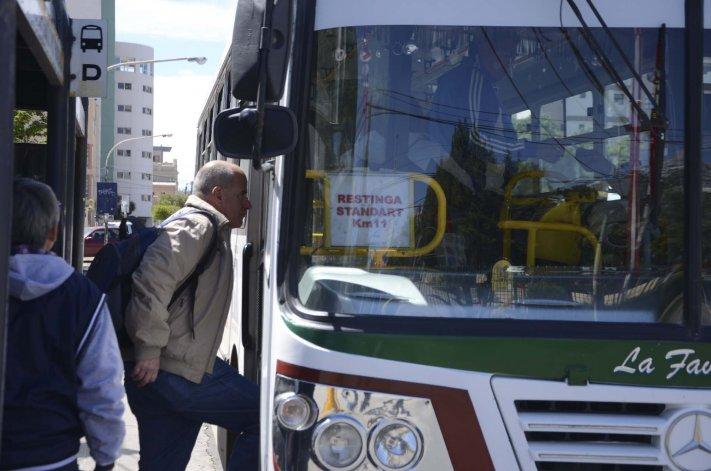 El transporte público es fundamental para que la medida de fuerza haga notar su contundencia.