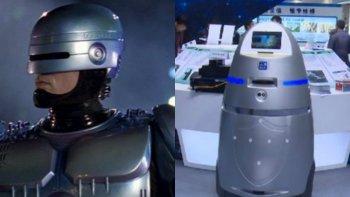 china creo su version de robocop para patrullar bancos y escuelas