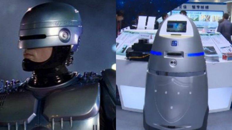 China creó su versión de Robocop para patrullar bancos y escuelas