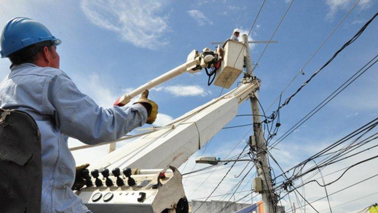 Corte de luz en catorce barrios de Zona Sur