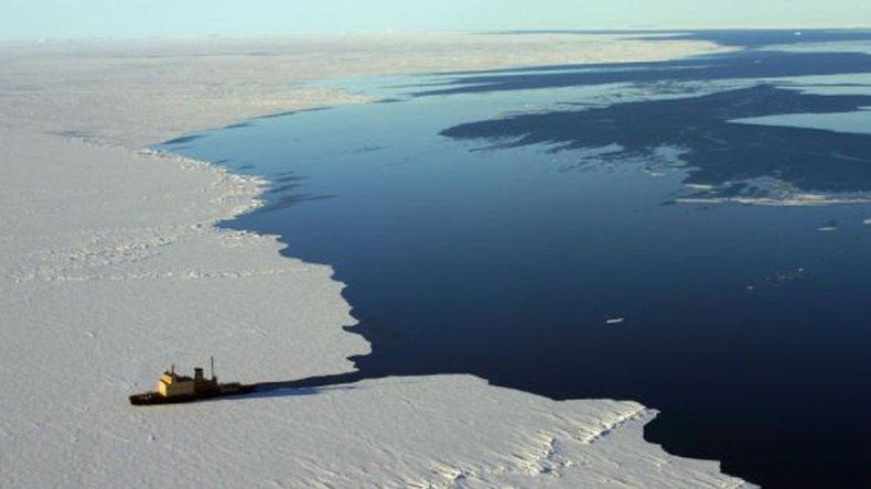 Descubrieron un lago oculto bajo la Antártida