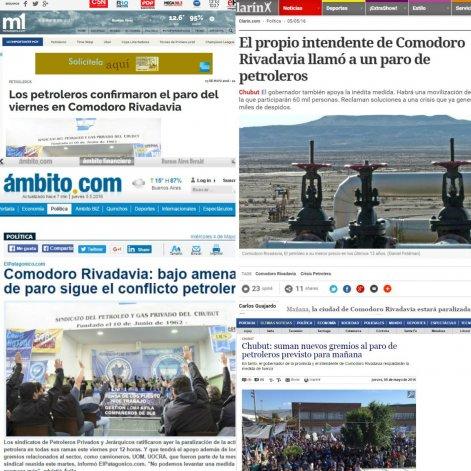 Medios de todo el país pendientes del paro de mañana