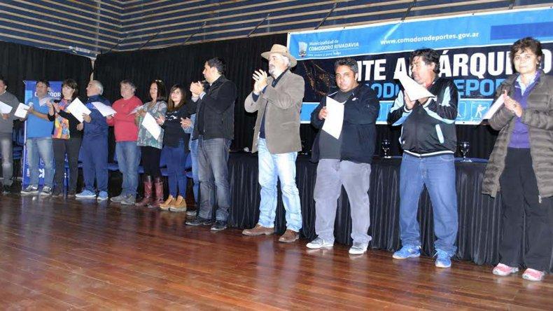 Varios cargos fueron renovados en el acto eleccionario del Ente Autárquico Comodoro Deportes.