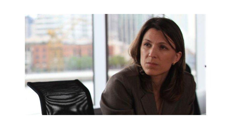 Isela Constantini es la titular de Aerolíneas. A ella le hará los planteos Das Neves.