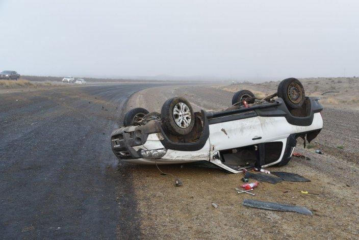 Al momento de producirse el accidente la visibilidad era reducida por densos bancos de niebla.