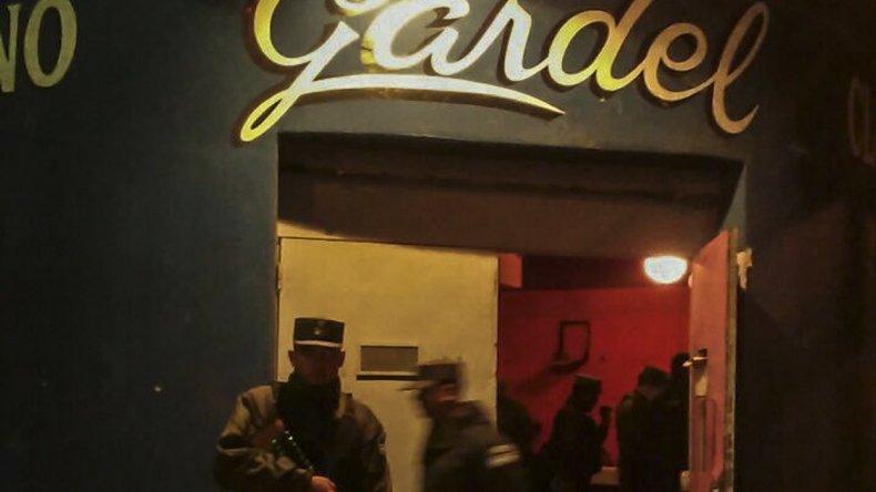 La Gendarmería allanó el interior de Los Troncos