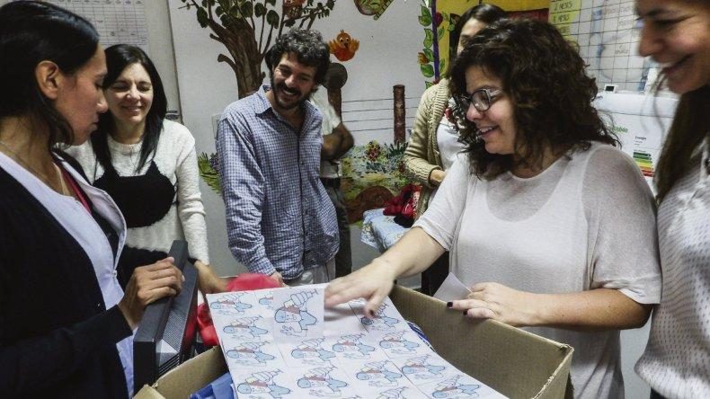 Las inspecciones de los vacunatorios de las cuatro áreas programáticas de Chubut son realizadas por personal de las distintas direcciones del Ministerio de Salud.