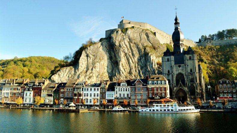 Dinant es una de las ciudades más fotografiadas de Bélgica