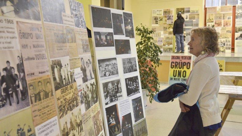 La Expo Grupo Uno refleja la historia de la legendaria banda comodorense