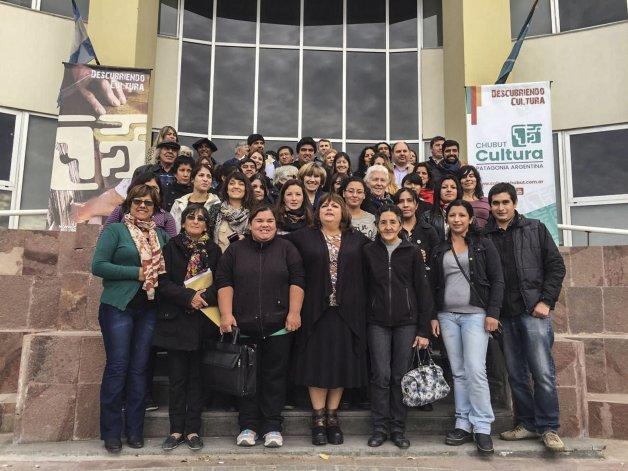 El encuentro reunió a referentes de las comunas y municipios de Chubut.