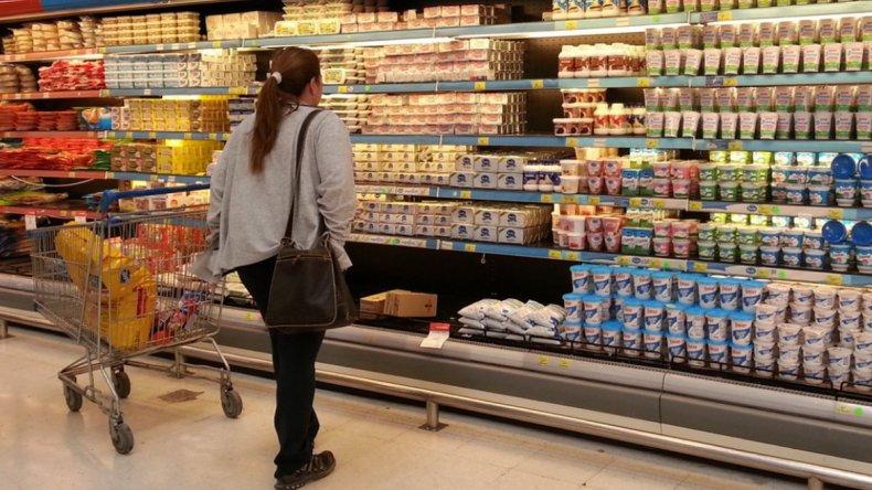 El rubro alimentos concentra un tercio de los gastos de la canasta básica