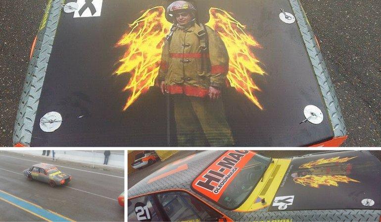 Realizaron un homenaje a Luis Gramajo en el Autódromo de Comodoro
