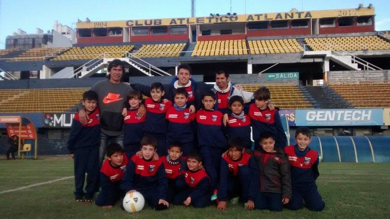 El estadio de Atlanta fue uno de los tantos escenarios que visitaron durante la semana en Buenos Aires.