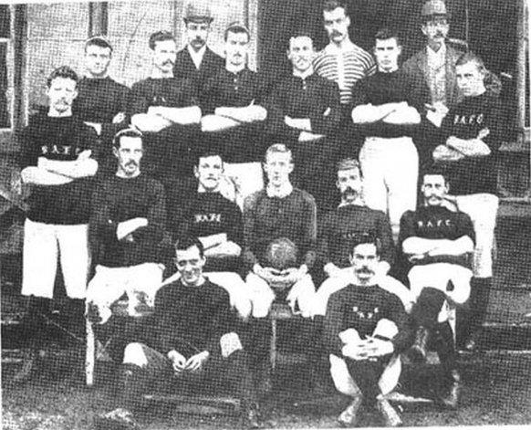 Hace 149 años se fundaba el primer club de fútbol del país