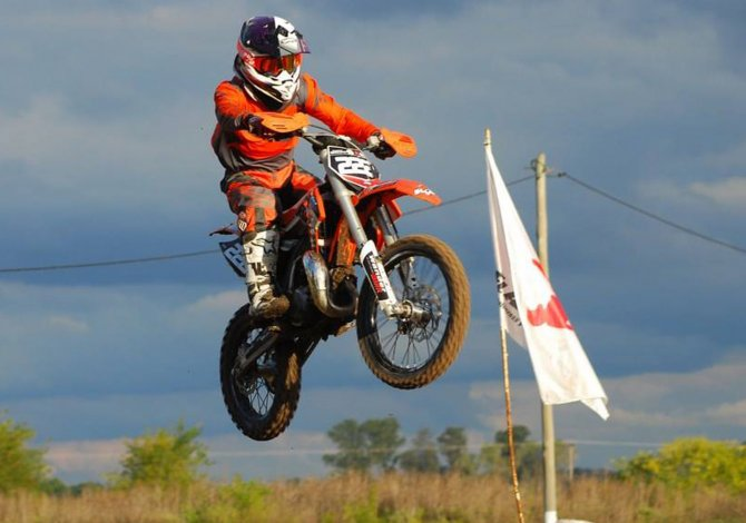 Tomás Brazao sumó experiencia en una nueva categoría a nivel nacional en San Juan.