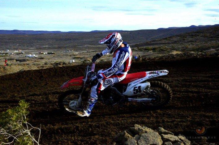 Cristian Burgos lidera la categoría MX1 del campeonato MX Patagonia que volverá a correr en Rada Tilly.