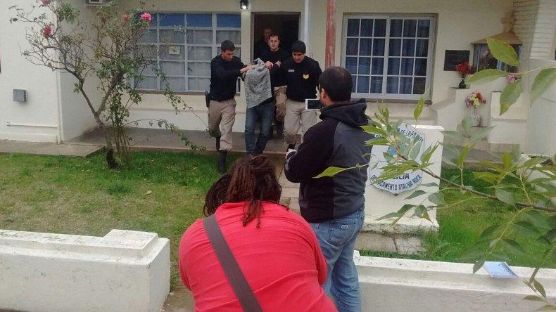 El sereno fue capturado por policía de La Pampa.