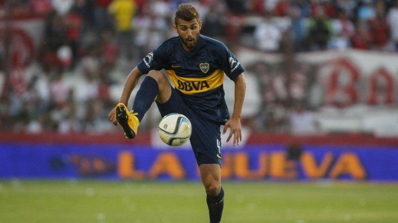 Gino Peruzzi está en duda de cara al duelo del jueves con Nacional de Montevideo por la Copa Libertadores.